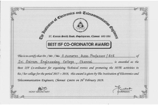 Achievements - Electronics & Communication Engineering